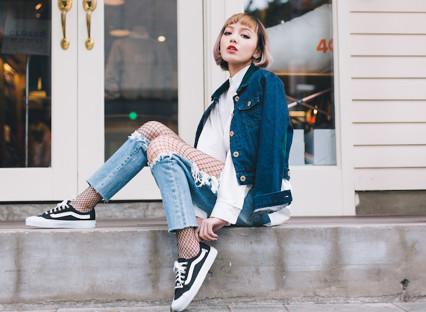 Quần Jeans nữ baggy