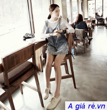 Giày bánh mì nữ oxford