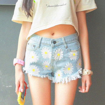 Quần Jeans ngắn