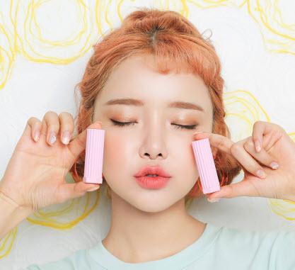 Love 3CE Velvet Lipstick màu hồng cam - Sugar Cane
