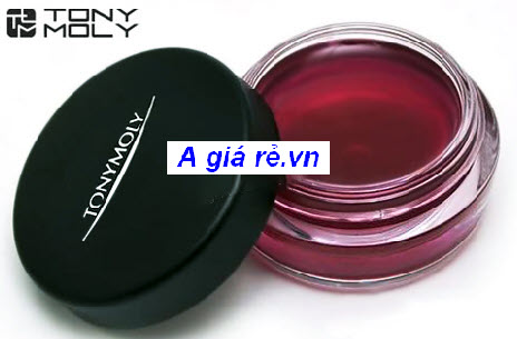 Son dưỡng môi Tonymoly tông đỏ tím