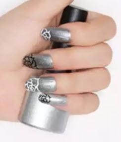 Sơn móng tay Tok ánh bạc