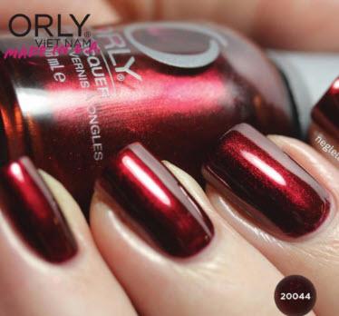 Sơn móng tay Orly màu đỏ đậm