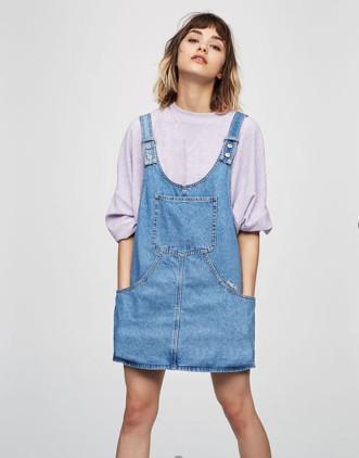 đầm yếm jean đẹp hàng hiệu