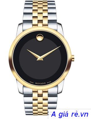 Đồng hồ không số movado Swiss Made