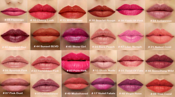 Bảng Màu Son Tom Ford – Lip Color