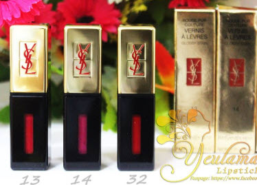 Son nước YSLRouge Pur Couture Vernis À Lèvres Glossy Stain