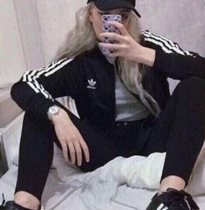 áo khoác adidas đen