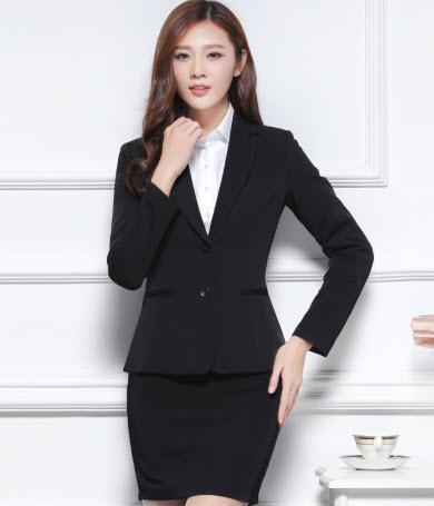Áo vest đen nữ đẹp