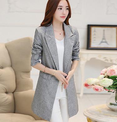 Áo vest nữ dáng dài