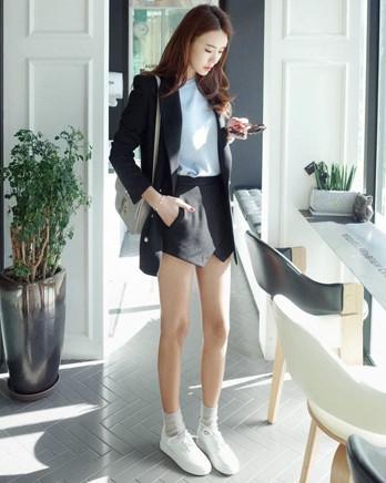 Mẫu áo vest nữ trẻ trung