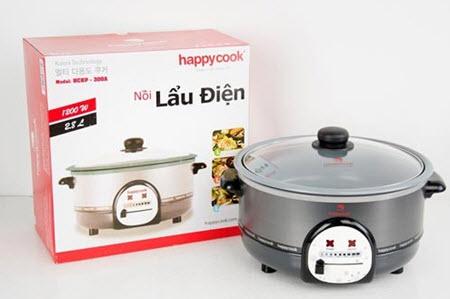nồi lẩu điện happy cook