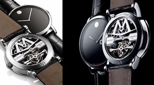 Đồng hồ movado fake 1