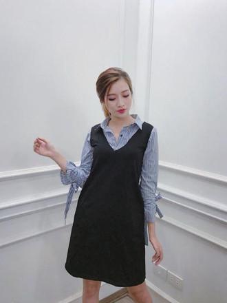 Đầm sơ mi suông đẹp
