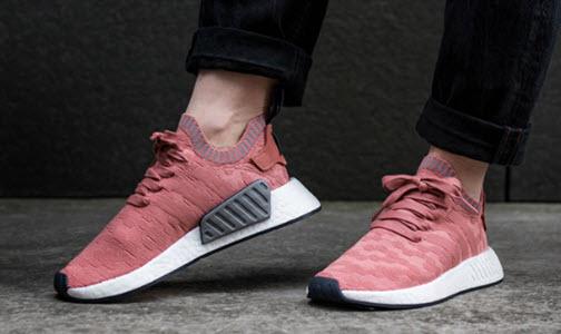 Giày Adidas hồng nữ