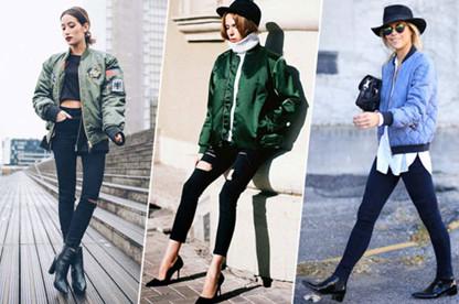 Áo khoác Bomber Jacket đẹp giá rẻ