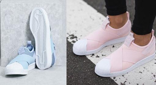 Size giày adidas nữ Slip on