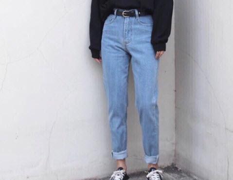 Quần Baggy jean nữ đẹp