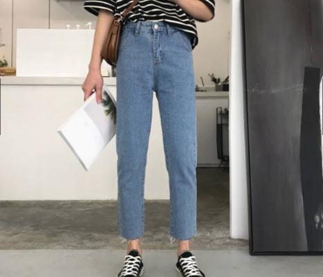 Phối đồ với quần baggy Nữ Jeans
