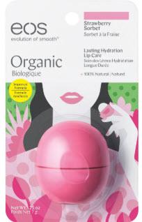 son trứng EOS Strawberry Sorbet màu xanh hồng nhạt