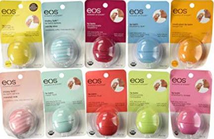 Thiết kế son dưỡng môi trứng EOS Smooth Sphere Lip Balm