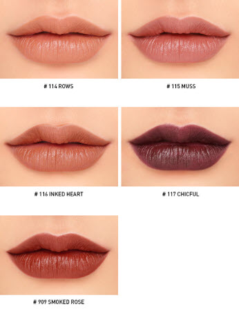 Bảng màu son 3CE Mood Recipe Matte Lip Color siêu hot