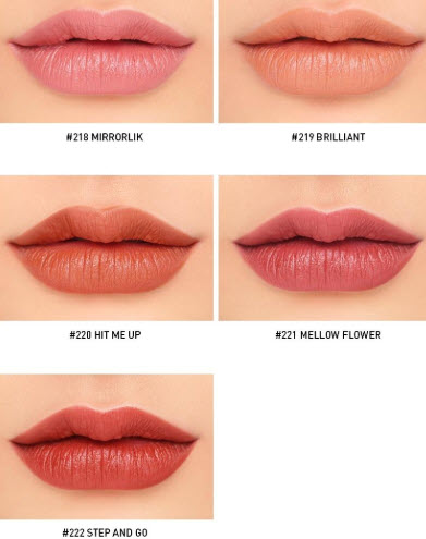 Bảng màu son 3CE Mood Recipe Matte Lip Color