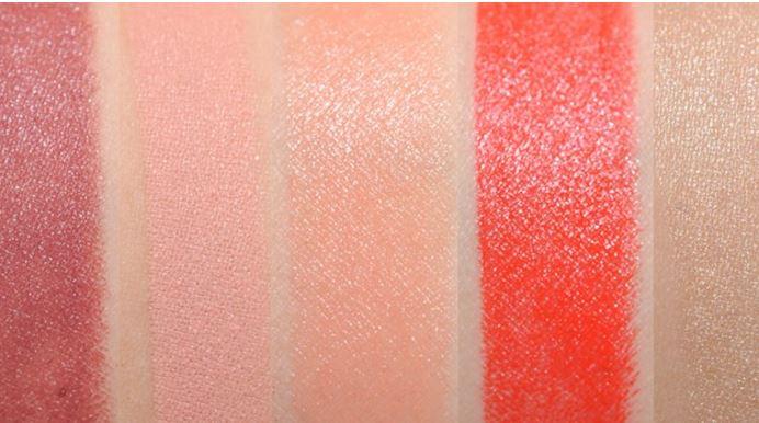 Bảng màu son Mac Vibe Tribe Lipstick