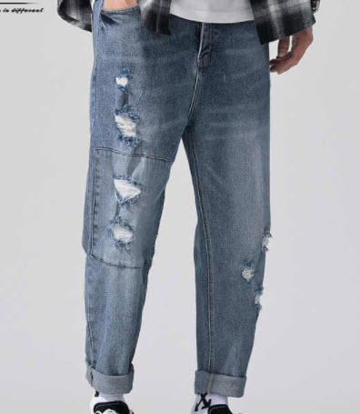 Quần Baggy Jeans nam