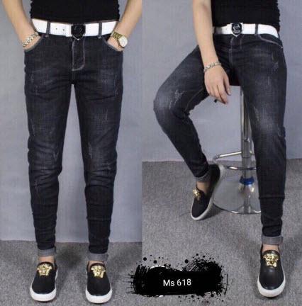 Quần Jean nam màu đen đẹp