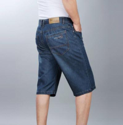 Quần Jeans nam lửng
