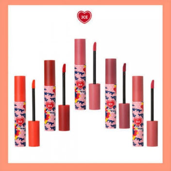 Son kem lì 3CE -Maison Kitsune Velvet Lip Tint