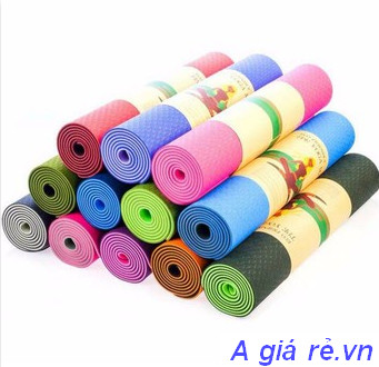 Thảm tập yoga Zeno 2 lớp Tpe cao cấp