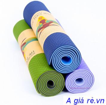 Thảm tập Gym và Yoga tpe 8mm