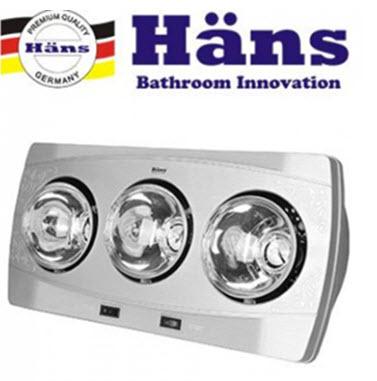 Đèn sưởi nhà tắm Hans giá rẻ nhất