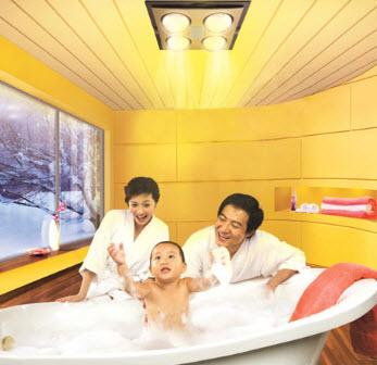 Đèn sưởi nhà tắm bảo vệ sức khỏe gia đình