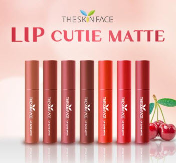 Son Kem Lì The Skin Face Cutie Lip Matte