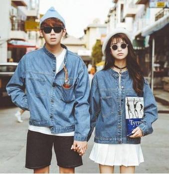 Áo khoác Jeans cặp đôi