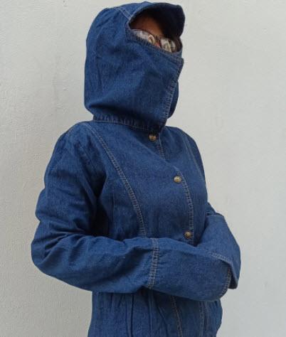 Áo khoác Jeans chống nắng nữ