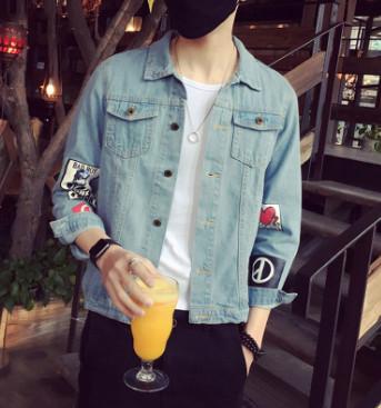Áo khoác Jeans nam đẹp
