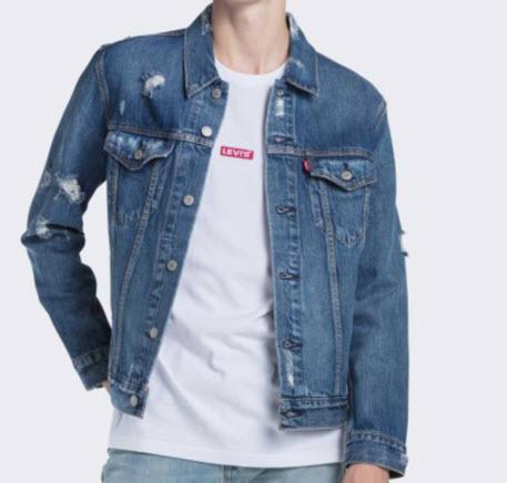 Áo khoác Jeans Levis