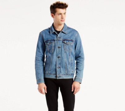 Áo khoác Jeans levis nam