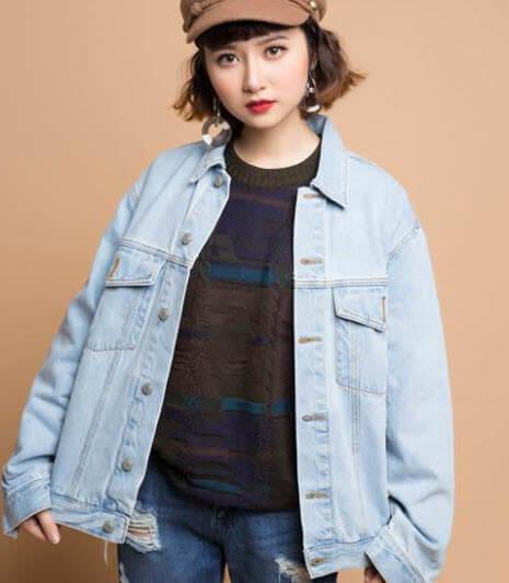 Áo khoác Jeans nữ đẹp