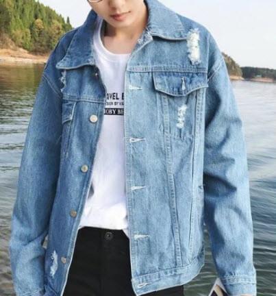 Áo khoác jeans Unisex
