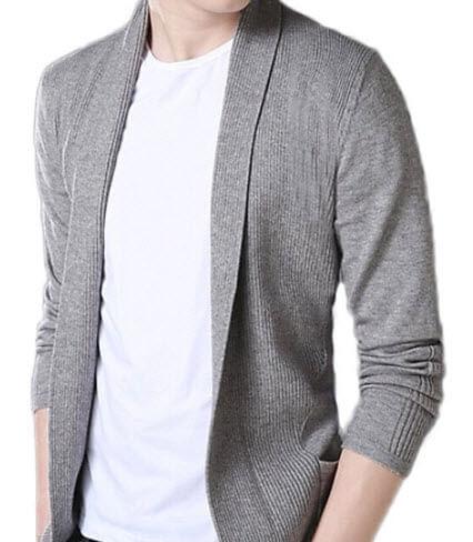 Áo len Cardigan nam