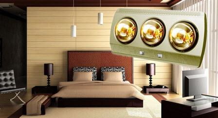 Đèn sưởi phòng ngủ