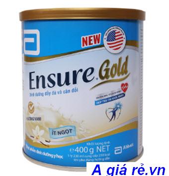 Sữa Ensure Gold ít ngọt hương vani