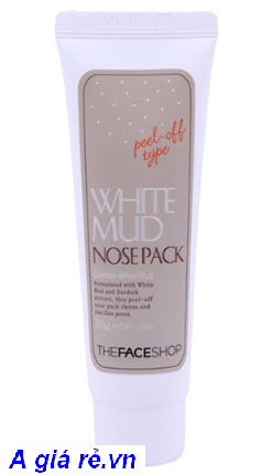 The Face shop White Mud Nose Pack