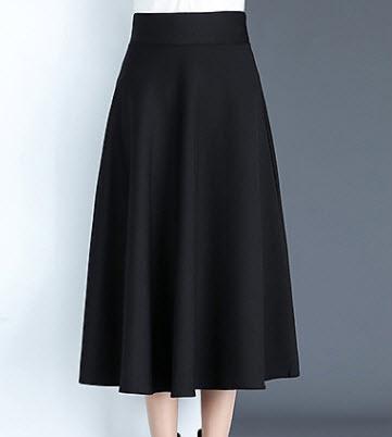 Chân váy xòe dài Hàn Quốc