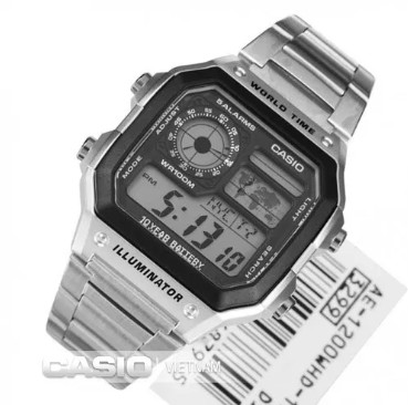 Đồng hồ Casio AE-1200WHD-1AVDF